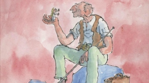 The BFG. Image by Quentin Blake.